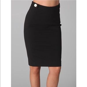 Diane von Furstenberg Black Skirt 2